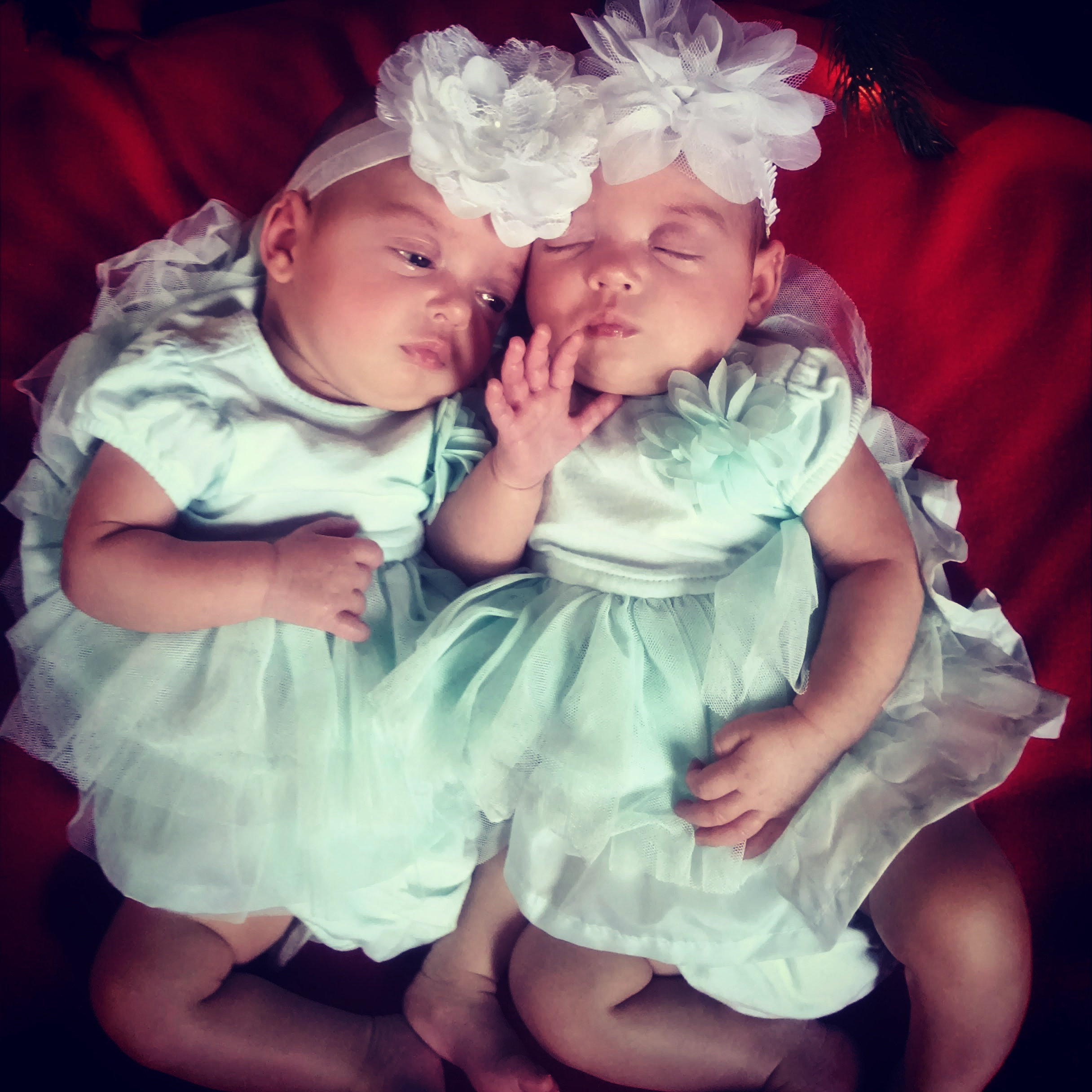 My twins. My everything. My prize.  They became my idols.